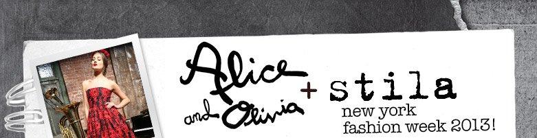 Alice + Olivia and Stila