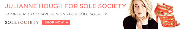 Julianne Hough for Sole Society | Shop Now