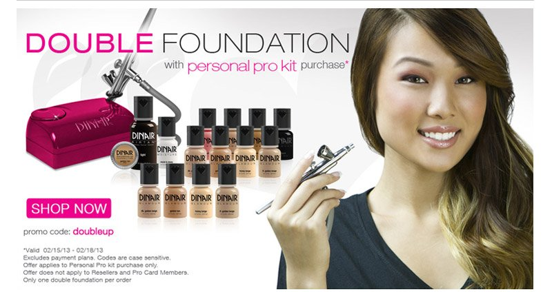 Double foundation with Personal Pro Kit