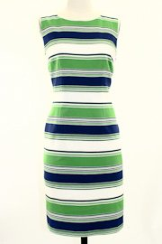 Trina Turk Spectator Stripe Ponte Dress