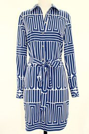 Trina Turk Aces Garden Maze Shirt Dress