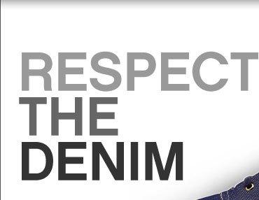 RESPECT THE DENIM