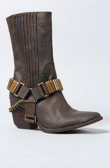 The Slash Hi Boot in Brown