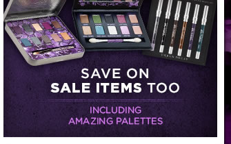 Save On Sale Items Too - Including Amazing Palettes