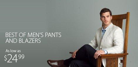 Pants and Blazers
