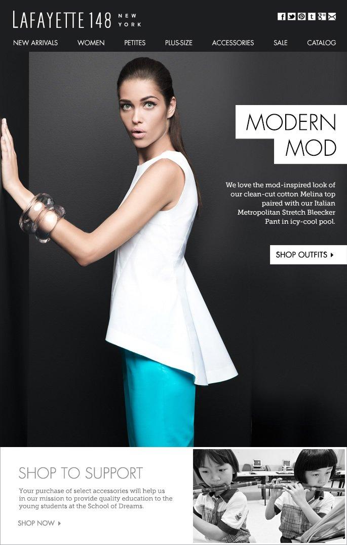 Modern Mod: The New Cool