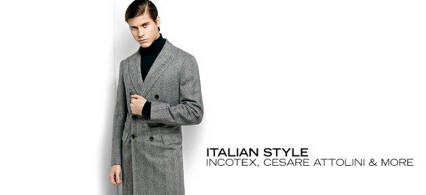 ITALIAN STYLE: INCOTEX, CESARE ATTOLINI & MORE, Event Ends February 19, 9:00 AM PT >