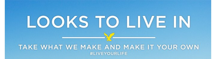 Looks To Live In | Take What We Make And Make it Your Own | #LIVEYOURLIFE