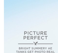 Picture Perfect | Bright Summery AE Tanks Get Photo Real