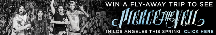 Win a Fly-Away for Pierce the Veil