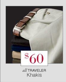 $60 - Traveler Khakis