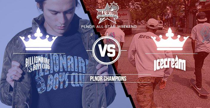 PLNDR Champions: BBC vs Ice Cream