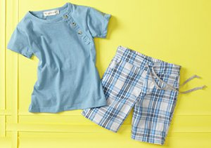 Boys' Spring Styles: Shorts, Shirts & More