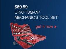 $69.99 CRAFTSMAN(R) MECHANIC'S TOOL SET | get it now
