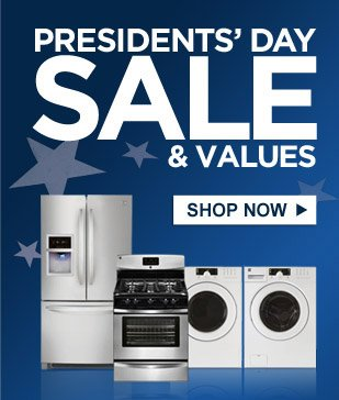 PRESIDENTS' DAY SALE & VALUES | SHOP NOW