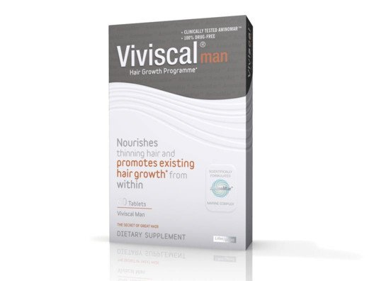 Viviscal Healthy Hair Supplement for Men from Orlando Pita