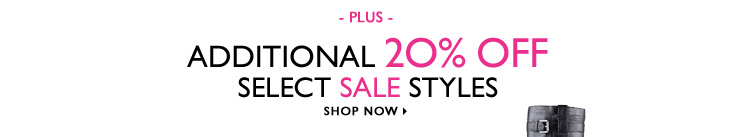 Click here to shop Our Sale Is on Sale.