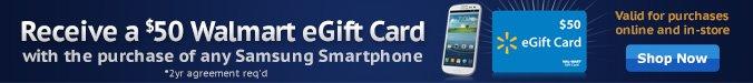 Samsung $50 Gift Card