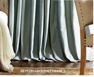 PEYTON GROMMET DRAPE