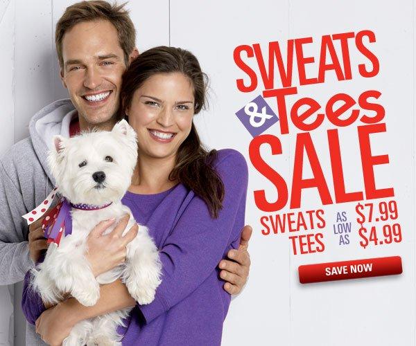 Sweats & Tees Sale