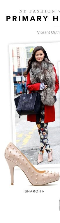 NY Fashion's Week Chic Streetstyle Shoes! Snag 'Em Now
