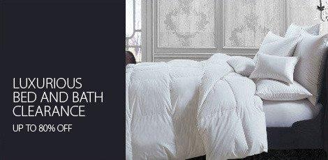Luxurious Bed & Bath Clearance