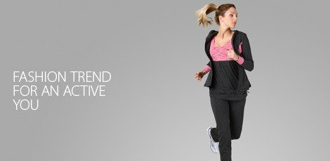 Fashion trend for an active you