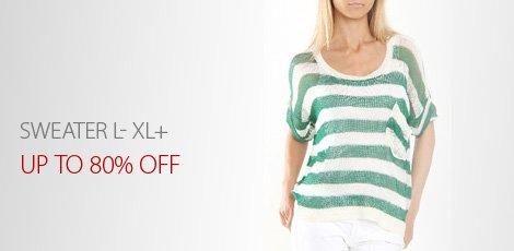 Sweater L- XL+
