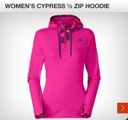 WOMEN'S CYPRESS 1/2 ZIP HOODIE