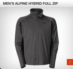 MEN'S ALPINE HYBRID FULL ZIP