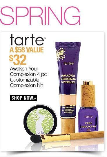 Tarte Awaken Your Complexion 4 pc Customizable Complexion Kit