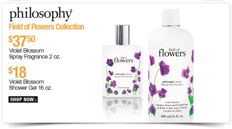 Philosophy Field of Flowers Collection