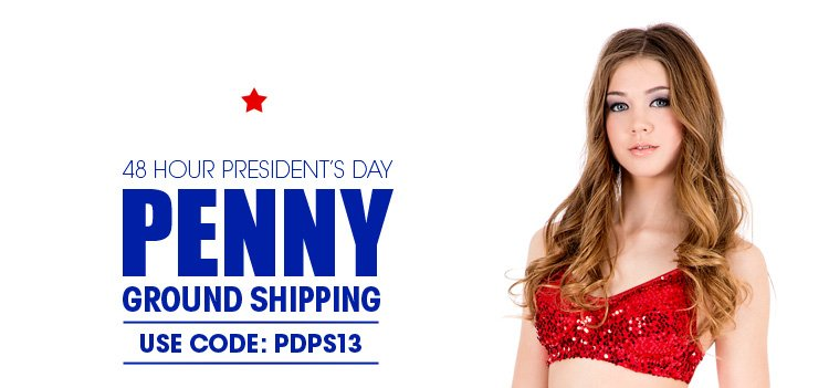 48 Hour Presidents day penny ground shipping