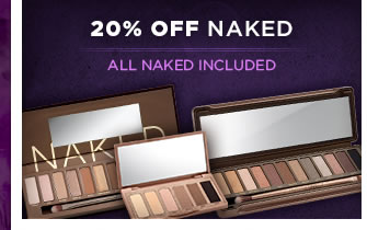 20% Off Naked - All Naked Included