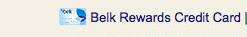 Belk Rewards Credit Card