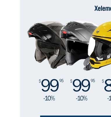 30-50% off Xelement Helmets