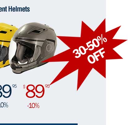 Xelement Helmets - take extra 10% off