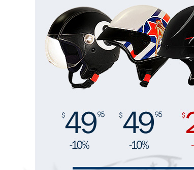 SMS Helmets Starting at $29 - 10% off