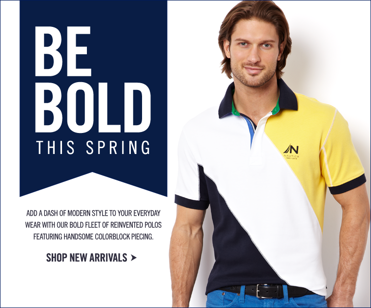 BE BOLD This Spring! Shop New Arrivals!