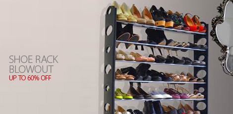 Shoe rack Blowout