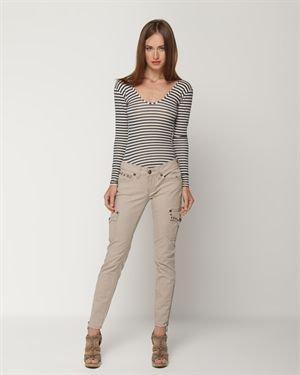 Antique Rivet Slim Studded Jeans