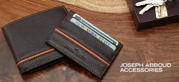 JOSEPH ABBOUD ACCESSORIES, Event Ends February 21, 9:00 AM PT >