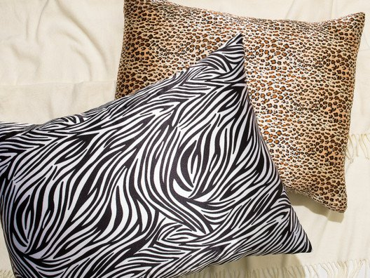 Satin pillowcases have been my not-so-secret, secret for years. They are not only better for your hair because they prevent breakage, but they also prevent wrinkles!