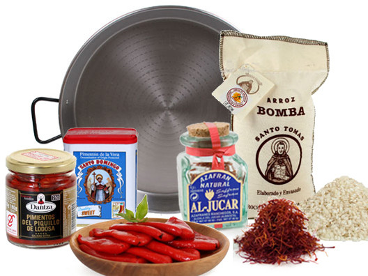All you need to make the most delicious paella is available right here (well, minus a few ingredients that you can easily pick up in your local market, like chicken and chicken stock).