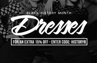 Black History Month: Dresses