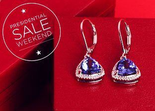 White Gold Jewelry Blowout: Necklaces & Earrings