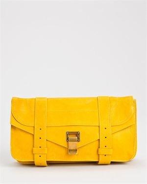 Proenza Schouler LU Genuine Leather Clutch $619