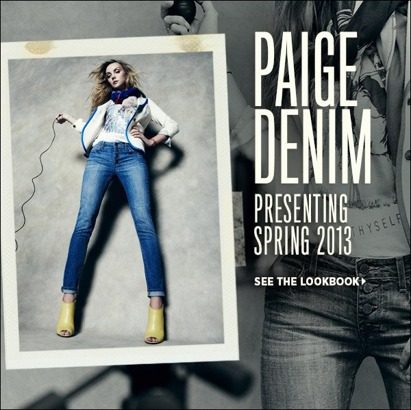 See how we style the latest and greatest from Paige Denim in our new lookbook. Shop Paige Denim >>