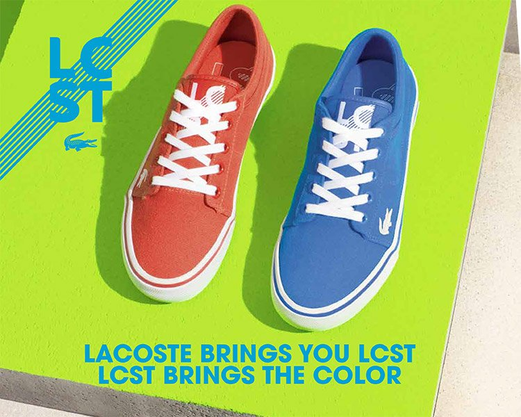 Now Introducing: LCST by Lacoste. Check out the collection.