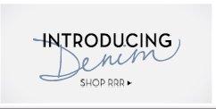 Introducing RRR Denim